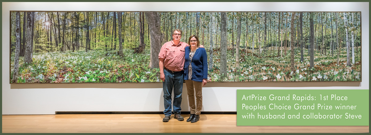 Ann and Steve Loveless 2015 artprize winners