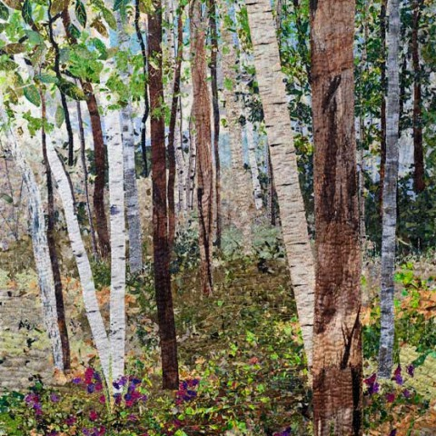Birches-and-Sweetpeas