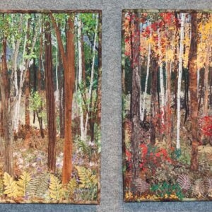 Impressionistic Art Quilts Set